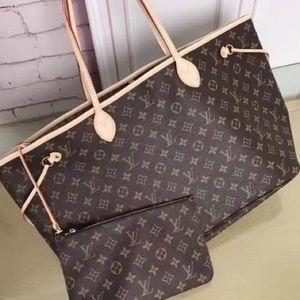 ùNew Louis Vuitton r Neverfull Handbag j Purse MMÿ
